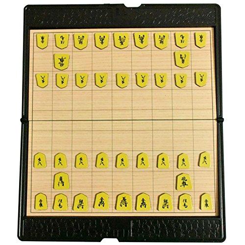 将棋 ポータブル 将棋セット 折りたたみ式 将棋盤 マグネット付き駒 コンパクト 旅行 日本将棋 こども 初心者 大人向け ボードゲーム