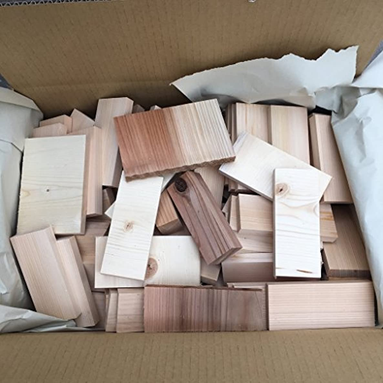 驚かす可愛い一部アウトドア 燃料用 端材 木材 薪