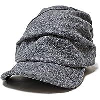 (グレース) 【grace】 JACAMO CAP ドレープデザイン 切替え キャスケット