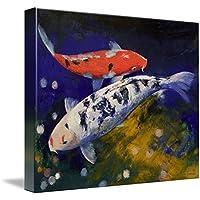 """壁アート印刷entitled Bekko Koi Fish byマイケル・Creese 14"""" x 11"""" 1356880_2_thickbox"""