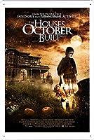 映画の金属看板 ティンサイン ポスター / Tin Sign Metal Poster of Movie The Houses October Built #2