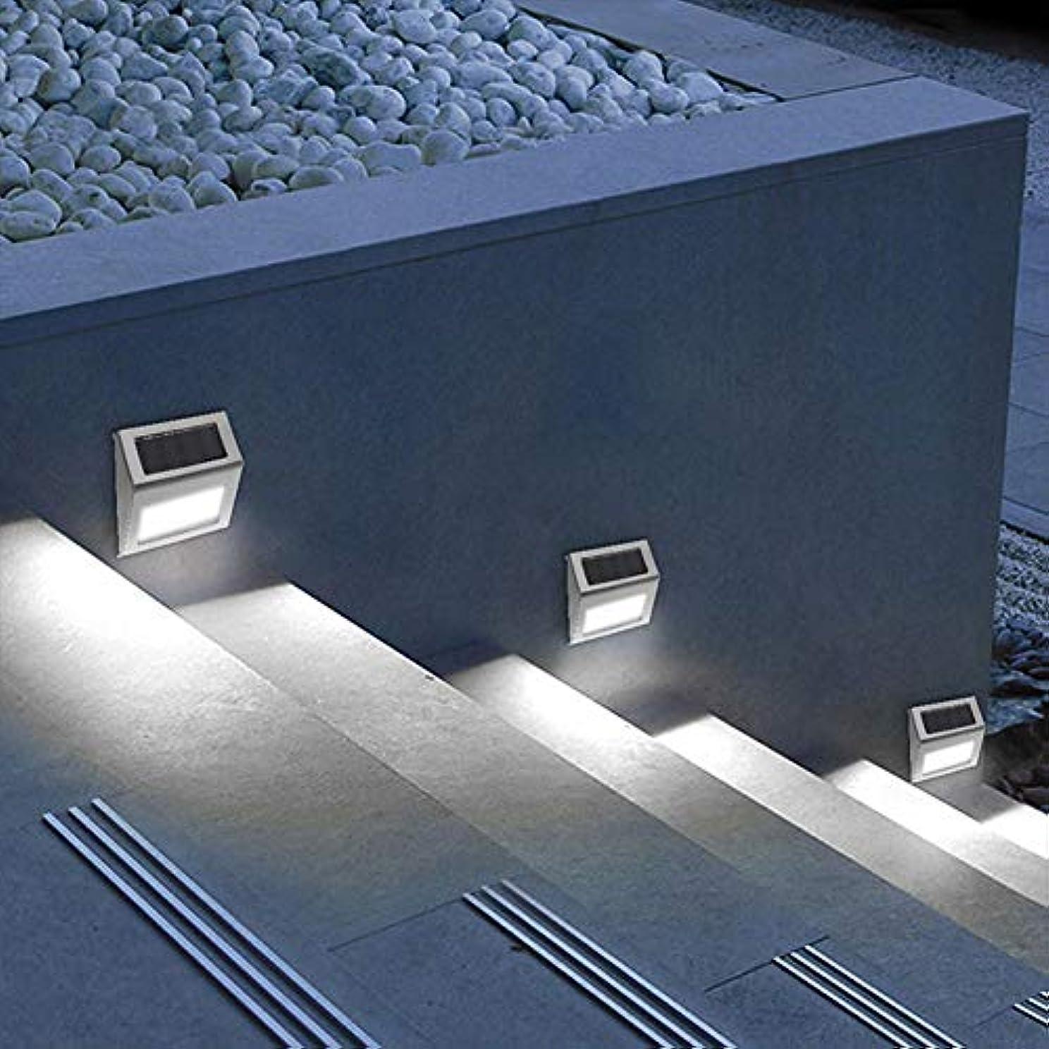 神学校超越するどちらもKlcclmki 6個セット ソーラー階段ライト 屋外防水 センサーライト足元ライト 玄関ライト フットライト アルミ素材 夜間自動点灯 ガーデン/玄関/廊下/軒先/表札照明 足元灯 安全保護(白色光)