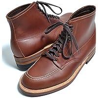 Alden Men's Indy Boot High Top Blucher Workboot Style#:405オールデン ブラウン ショート本革 シューズ