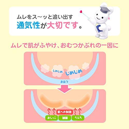 『【テープ 新生児用】メリーズさらさらエアスルー (お誕生~5kg) 90枚 【Amazon.co.jp限定】』の6枚目の画像