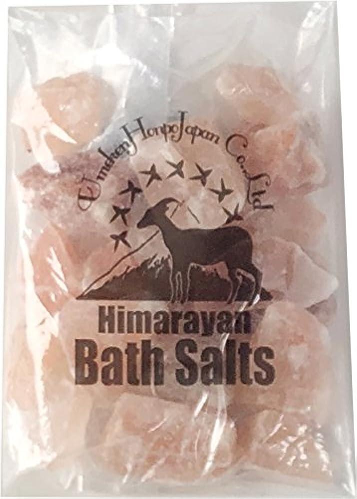 小麦粉注ぎます成功したヒマラヤ岩塩 バスソルト ピンク ブロック 1kg