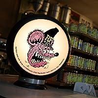 ガスランプ Rat Fink ムーンアイズ ラットフィンク FACE ガスポンプ ランプ GASPUMP 店舗装飾 ガレージ