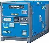Denyo (デンヨー) 単相エンジン発電機 KCA-8SPX 灯油仕様