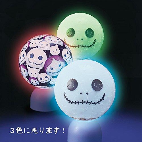 60ピース 光る球体パズル パズランタン ディズニー ツムツム-ジャック-