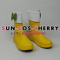 【サイズ選択可】コスプレ靴 ブーツ Z1-0437 ラブライブ! COCO'S×μ's ココス×μ's 小泉花陽 コラボメイド服 男性25CM