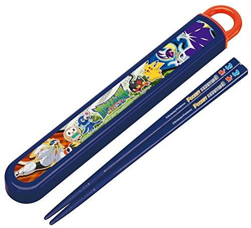箸 箸箱 セット スライド式 16.5cm ポケモン サン&...