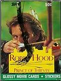 Robin Hood Prince of Thieves Glossy Movie Card Box 36 Packs Per Box