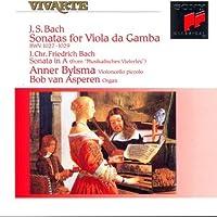 Bach: Sonaten Violan Da Ga