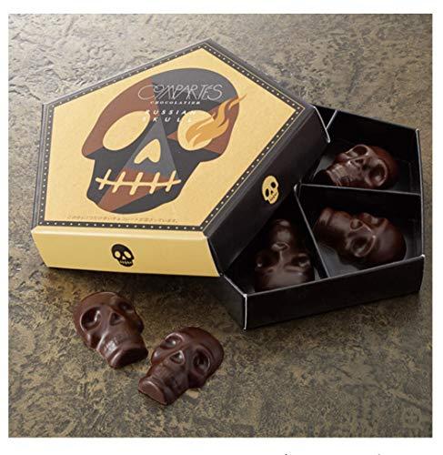 ロシアンスカル カジュアル チョコレート 5粒入り(1粒は激辛チョコ) コンパーテス