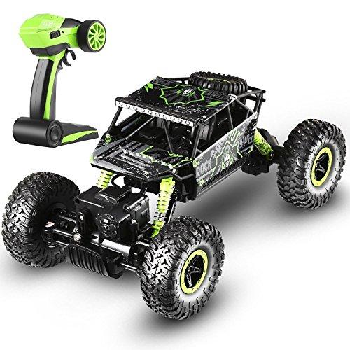 ラジコンカー RCカー 4WD 4輪駆動 ダブルモーター 高速 抗干渉 競技可能 安定性高い 耐衝撃 振動緩和 自動演示 乗り越え抜群 操作簡単 初心者にも最適 【製品保証期間:一年間】