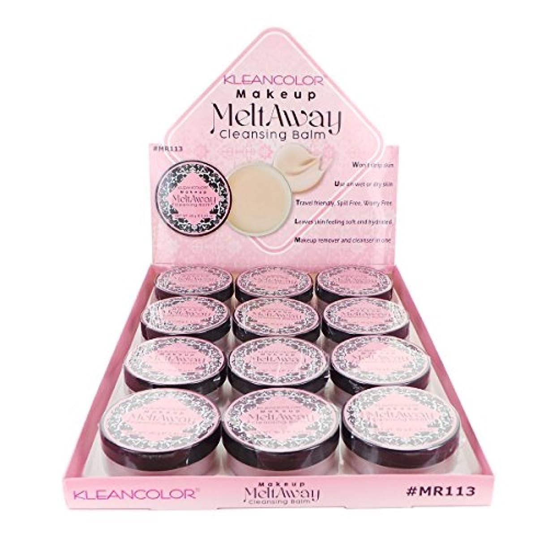 区別する委託近々KLEANCOLOR Makeup Meltaway Cleansing Balm Display Set, 12 Pieces (並行輸入品)