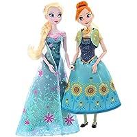 [ディズニー 公式]アナと雪の女王 ドールセット 2P  エルサ & アナ(Disney 人形 プリンセス フィギュア グッズ)正規品