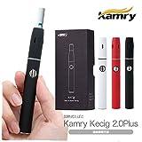 アイコス IQOS互換品 Kamry kecig 2.0 plus カムリ ケーシグ 2.0プラス 650mAh内蔵型バッテリー 加熱機能搭載 連続喫煙可能 互換 スターターキット 【正規品】 (ブラック)