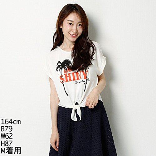 Tシャツ(パームツリーPT前結びT) イング