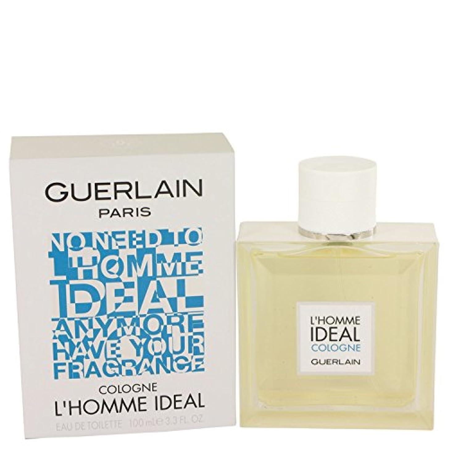 レンダリング恐ろしい聴くL'homme Ideal Cologne Eau De Toilette Spray By Guerlain