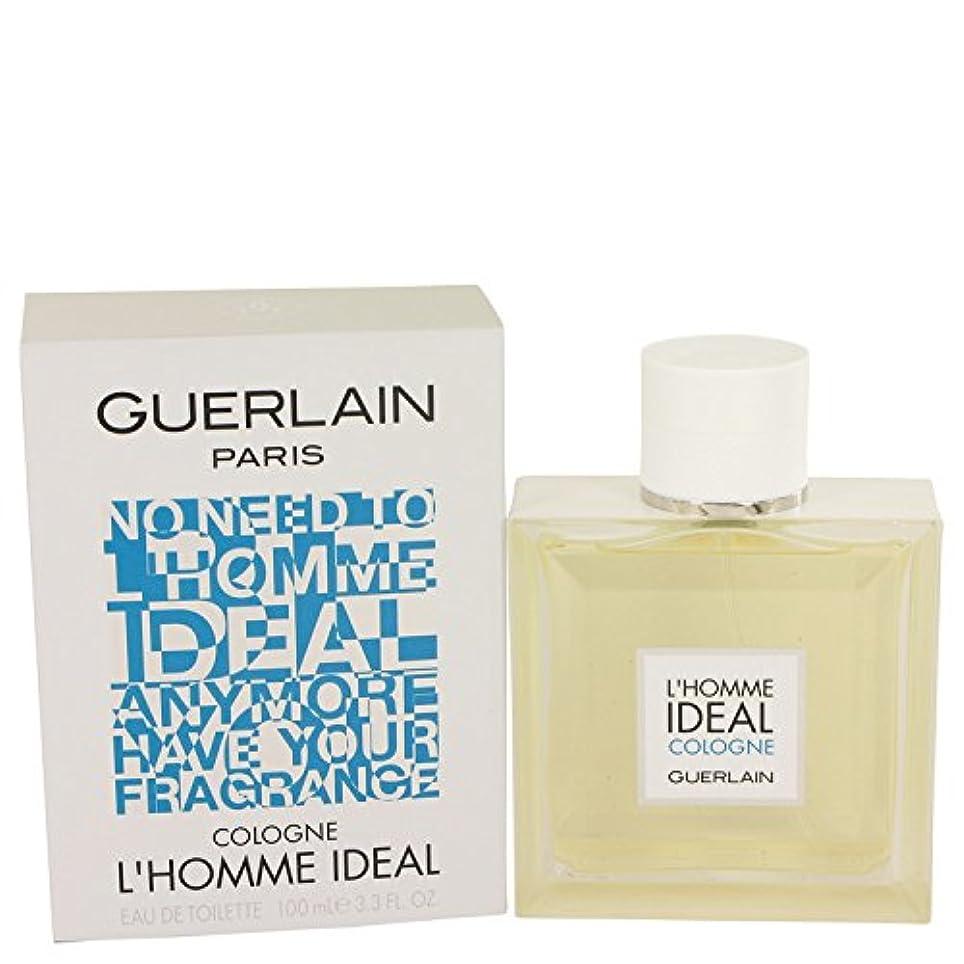 系統的鎮静剤スカルクL'homme Ideal Cologne Eau De Toilette Spray By Guerlain