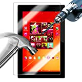 【国産ガラス素材】【riseシリーズ】Sony Xperia Z4 Tablet 液晶保護強化ガラスフィルム 硬度9H 超薄0.33mm(総厚0.4mm) 2.5D ラウンドエッジ加工済 さらさら表面コート 指紋防止 防汚コーティング処理 飛散防止処理高品質ガラスフィルム