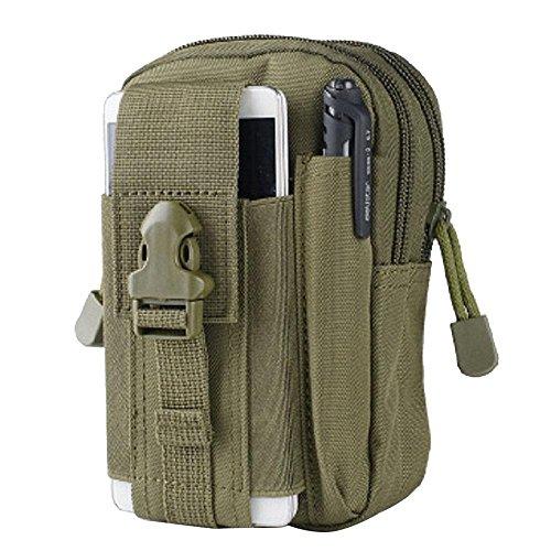 [해외]Pawaca 전술 백 허리 파우치 벨트 통해서 소품 백 몸집 경량 다기능 대용량 의자 백 방수 등산 | 자전거 | 낚시 | 조깅 전 7 색 블랙/Pawaca Tactical Back Waist Pouch Belt Thread Accessory Small Petite Lightweight Multifunctional Capacity S...