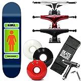 スケボー コンプリート GIRL ガール 93til 2 ショーンマルト 7.625×31.12インチ 選べるトラック・ウィール(レンチ+ケースサービス。) スケートボード スチールトラック ホワイトウィール