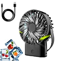 USB扇風機、ミニハンドヘルド扇風機、超静音、携帯用扇風機、事務机用のUSB充電式電動扇風機、卓上机冷却机