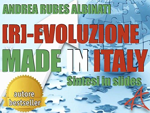 amazon co jp r evoluzione made in italy sintesi slides