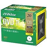ビクター(Victor) 1回録画用 DVD-R VHR12JP20J1 ?(片面1層/1-16倍速/20枚)