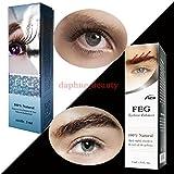 2 BOXES SET of FEG Eyelash Enhancer & FEG Eyebrow Enhancer Serum Liquid 100% Natural ORIGINAL [並行輸入品]