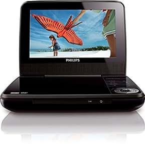 完全1年保障 3年延長保証可能 TV出力対応(別途 ケーブル必要) Philips フィリップス PET741 mdf-ver 多地域対応 リージョンフリー リージョン0~8 (PALとNTSC 自動対応) 超軽量 0.7kg ウルトラコンパクト 7インチ ポータブルDVDプレーヤー 世 界 共 通 プ レ ミ ア ム 海 外 仕 様