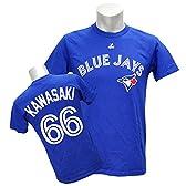 Majestic(マジェスティック) MLB トロント・ブルージェイズ 川崎宗則 Tシャツ Player Tee (ブルー) - S