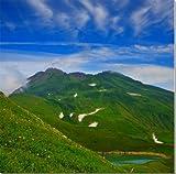 鳥海山 日本百名山・日本百景の一つ 109×106.5cm YMA-072-109106 風景写真パネル 新築祝い、結婚祝いなど プレゼントに喜ばれます。