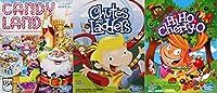 クリスマスキャンディランド、Chutes and Ladders and Hi Ho cherry-oボードゲームバンドル