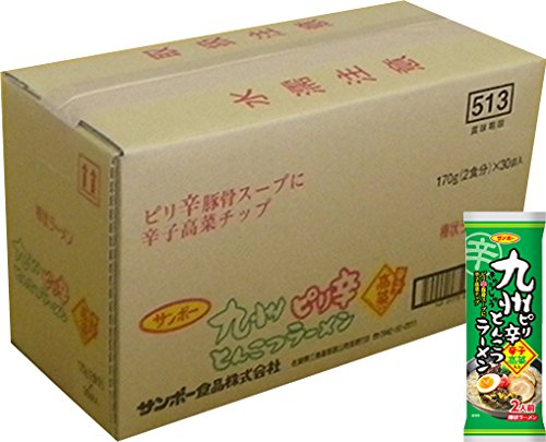 棒状 九州ピリ辛とんこつラーメン 170g