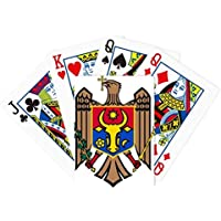 モルドバヨーロッパNational Emblem Poker PlayingカードTabletopボードゲームギフト
