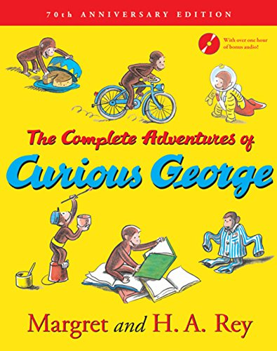 The Complete Adventures of Curious George: 70th Anniversary Editionの詳細を見る
