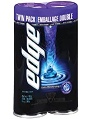 Edge Shave Gel for Men Extra Moisturizing Twin Pack - 7 Ounce [並行輸入品]