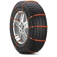 コノビヤ タイヤチェーン 自動車タイヤ滑り止めチェーン 雪道/凍結/砂道/悪路 緊急滑り止めチェーン 非金属タイヤチェーン 簡易型 20本入 幅145-295mmタイヤ適用