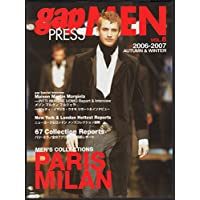 Gap press men (Vol.8(2006-2007autumn & winter)) (Gap press―COLLECTIONS)