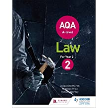 AQA A-level Law for Year 2 (Aqa a Level)