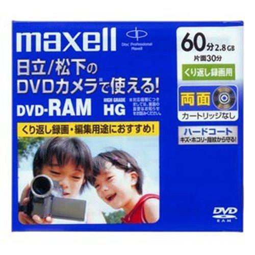 maxell ビデオカメラ用 DVD-RAM 60分 1枚 ...