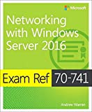 Cover of Exam Ref 70-741 Networking with Windows Server 2016