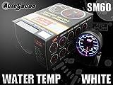 オートゲージ(AUTOGAUGE) 水温計 SM 60Φ ホワイトLED ワーニング付