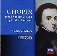 Chopin: Piano Sonatas. 24 Etudes by Vladimir Ashkenazy (2014-05-14)