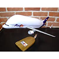 1/108 A300-600ST BERUGA ベルーガ (エアバス) 木製飛行機模型 輸送機 ソリッドモデル