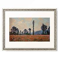 クロード・モネ Claude Monet 「Champ des Coquelicots」 額装アート作品