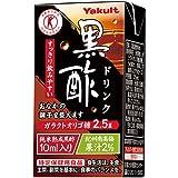 ヤクルト 黒酢ドリンク【特定保健用食品 特保】 125ml紙パック×36本入×(2ケース)