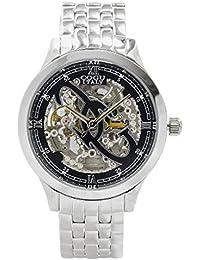 COGU 両面スケルトン 腕時計 オートマチック 3002M BK/ブラック 並行品 [時計] [時計]